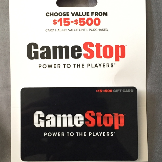 25$ GameStop Card