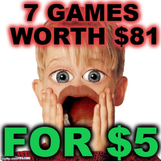 🔥THE ULTRA EPIC BUNDLE $81 WORTH OF GAMES FOR $5 (7 GAMES)🔥