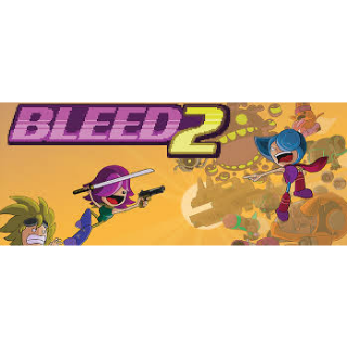 Bleed 2 Steam Key Global (Instant Delivery)