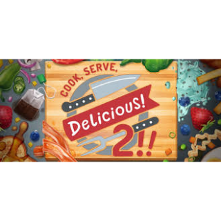 Cook, Serve, Delicious! 2!! Steam Key Global (Instant Delivery)