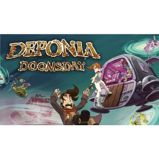 Deponia Doomsday Steam Key Global (Instant Delivery)