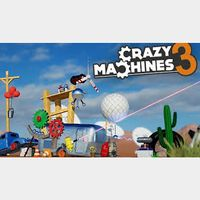 Crazy Machines 3 Steam Key Global (Instant Delivery)