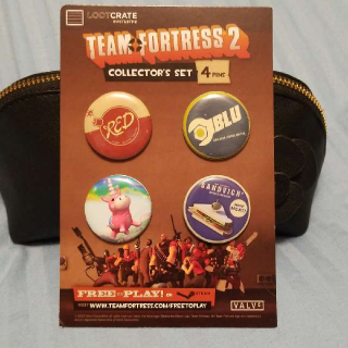 Team Fortress 2 Collectible Pins