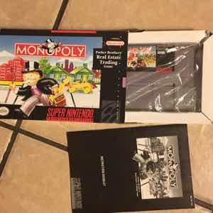 Monopoly - Super Nintendo SNES