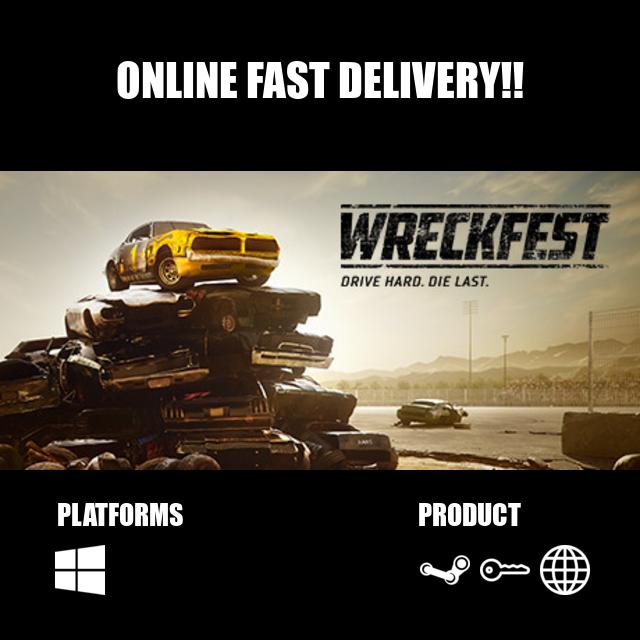 Wreckfest Steam Key Global