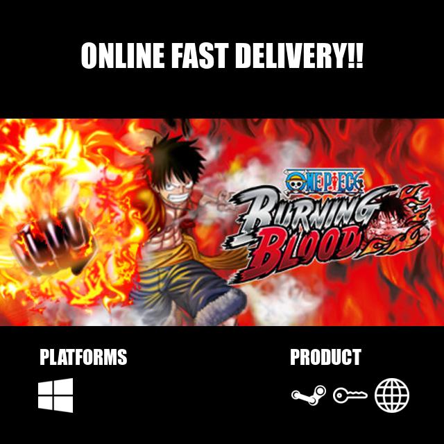 One Piece Burning Blood Steam Key Global