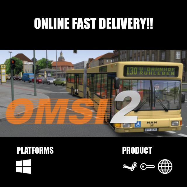 OMSI 2: Steam Edition Steam Key Global - Steam Games - Gameflip