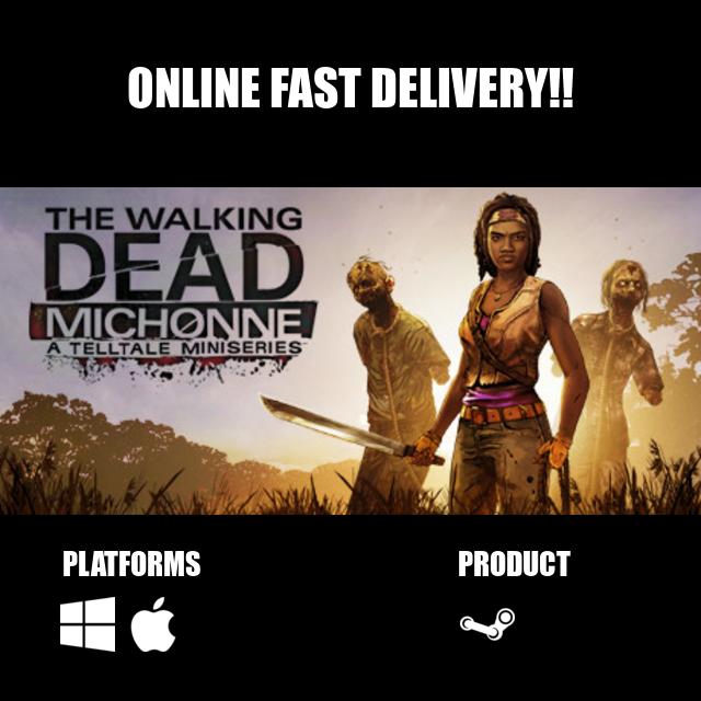 The Walking Dead: Michonne - A Telltale Miniseries Steam Key Global