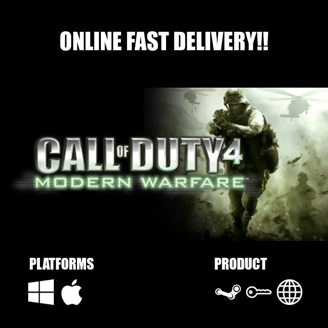 Call of Duty® 4: Modern Warfare® Steam Key Global