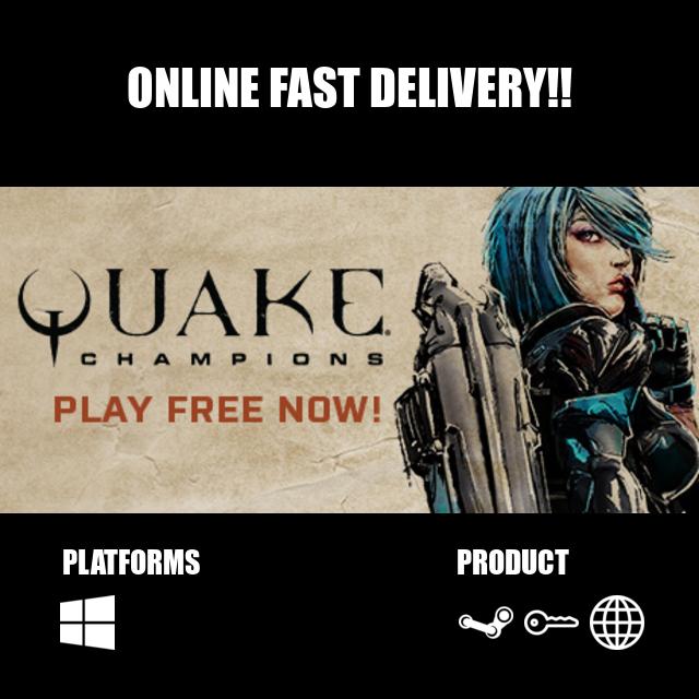 Quake Champions Steam Key Global