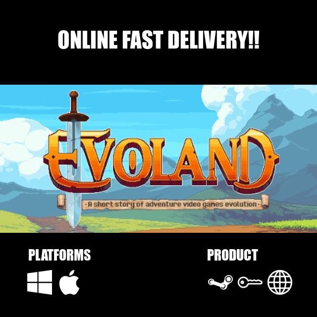 Evoland Steam Key Global - Steam Games - Gameflip
