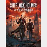 Sherlock Holmes: The Devil's Daughter - Steam - Key GLOBAL
