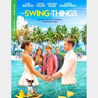 The Swing of Things  vudu HD or itunes 4k  (CJLG...)