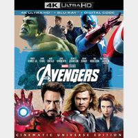 Marvel's The Avengers (2012)  4k MA code only  (6QPF...)