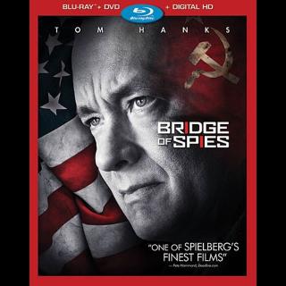 Bridge of Spies HD MA code(XTN4...)