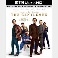 The Gentlemen itunes 4k only (MWFR...)