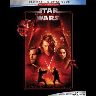Episode 3 – Revenge of the Sith HD GP code (0AH6...)