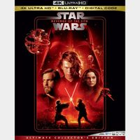Episode 3 – Revenge of the Sith 4K MA code only (47TY...)