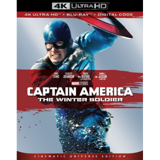 Captain America: The Winter Soldier (2014) 4k MA code only  (MGK5...)