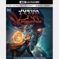 Justice League Dark: Apokolips War 4k MA code (72rf...)