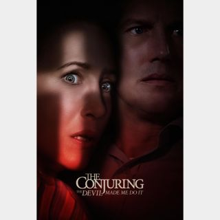 The Conjuring: The Devil Made Me Do It MA CODE HD