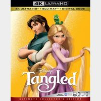 Disney Tangled 4K MA code only (ZX97...)
