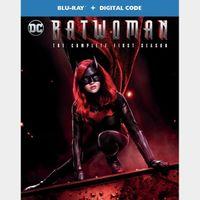 Batwoman: The Complete First Season (76xn...) HD vudu