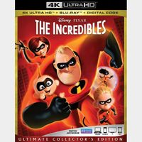 iTunes 4K: The incredibles (3W46...)
