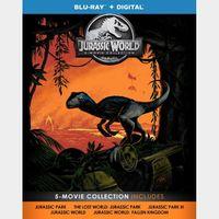 Jurassic World 5-Movie Collection HD (UDS8...)