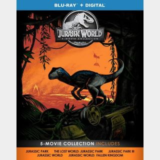Jurassic World 5-Movie Collection HD (UDS8...)