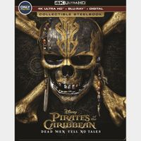 Pirates of the Caribbean: Dead Men Tell No Tales 4k MA code only (NUMH...)