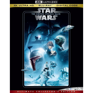 Episode 5 – The Empire Strikes Back 4K MA code only (48X03...)