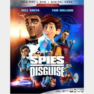 Spies in Disguise HD google play code (0HT0...)