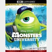 Monsters University  MA 4k code only (0CJ8...)