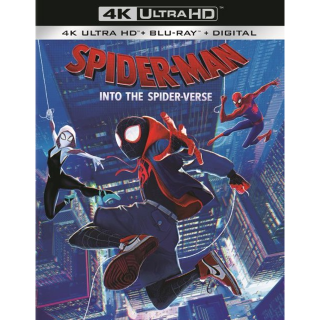 Spider-Man: Into the Spider-Verse 4k MA code (3CLC...)