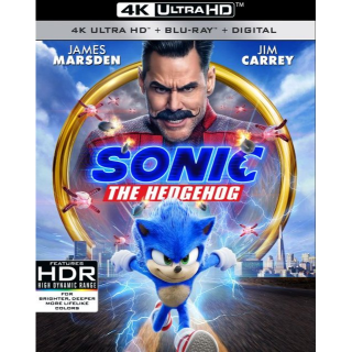 Sonic the Hedgehog 4k  VUDU (PAX9...)