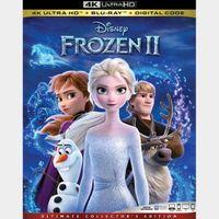 Frozen II MA 4k code only (2GHY...)