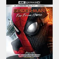 Spider-Man: Far From Home 4k MA code (3DKR...)