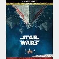 Star Wars: The Rise of Skywalker 4K MA code only (3C1Q...)