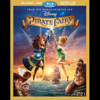 Disney The Pirate Fairy HD-  google play redeem (PA2J...)