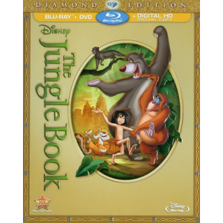 Disney The Jungle Book [Diamond Edition] 1967 HD MA/vudu only (5WKJ...)