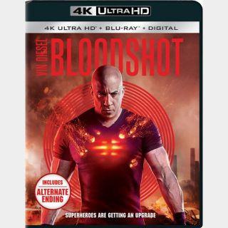 Bloodshot 4K MA code (3K06...)