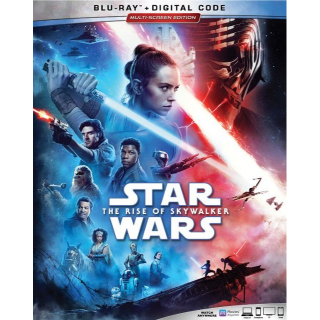 Star Wars: The Rise of Skywalker HD MA code only (30QP...)