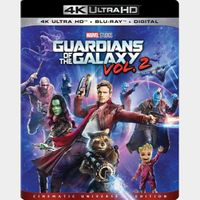 Guardians of the Galaxy Vol. 2 (2017) 4k MA code only  (6K4D...)