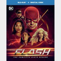 The Flash: The Complete Sixth Season (54B4...) HD vudu