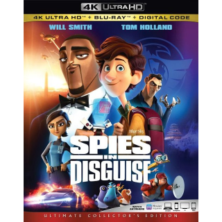 Spies in Disguise 4k MA code only (3ROQ...)