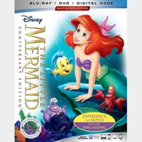 The Little Mermaid [30th Anniversary Signature Collection]  HD MA code only (NEBJ...)