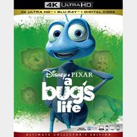 A Bug's Life  MA 4k code only (0EYB...)
