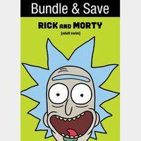 Rick and Morty: Seasons 1-4  HD (7264...)