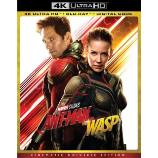 Ant-Man and the Wasp 4k MA code only  (MGN3...)